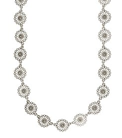 Nine West Vintage America Collection® Silvertone Collar Necklace