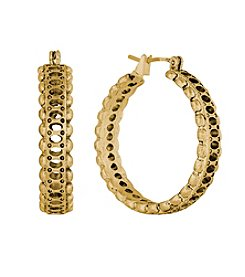 Lucky Brand® Goldtone Hoop Earrings