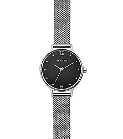 Skagen Denmark Women's Anita Watch In Silvertone With Mesh Strap