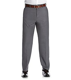 Savane® Men's Flat Front Premium Flex Gabardine Dress Pants
