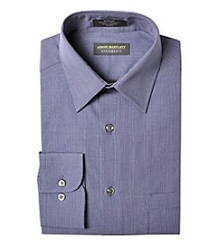 John Bartlett Statements Men's Mini Check Spread Collar Long Sleeve Dress Shirt