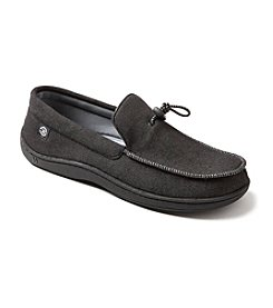 Isotoner Signature® Men's Knit Twill Moccasins