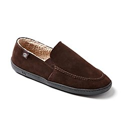 Isotoner Signature® Men's Micro Suede Slippers