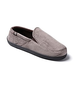 Isotoner Signature® Men's Corduroy Slip On Slippers