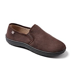Isotoner Signature® Men's Micro Suede Slip On Slippers