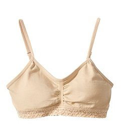 Maidenform® Girls' Lace Ruched Crop Bra