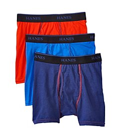 Hanes® Boys' 3-Pack X-Temp Boxer Briefs