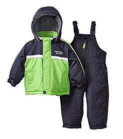 London Fog® Boys' 2T-7 Colorblock Snowsuit