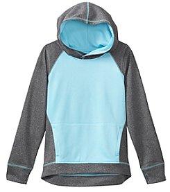 Exertek® Girls' 7-16 Colorblock Fleece Pullover Hoodie
