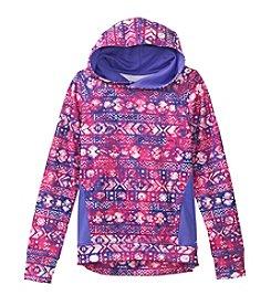 Exertek® Girls' 7-16 Geo Fleece Pullover Hoodie