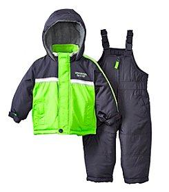 London Fog® Baby Boys Colorblock Snowsuit