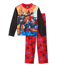 Warner Bros. Boys' 4-10 2-Piece Batman Vs. Superman Pajama Set