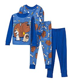 Universal® Boys' 2T-4T 4-Piece Secret Life of Pets Pajama Set