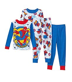 Universal® Boys' 2T-4T 4-Piece Spider-Man® Crime Fighter Pajama Set