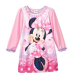 Disney® Girls' 2T-4T Minnie Mouse® Lace Nightgown