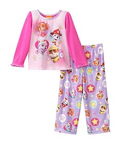 Nickelodeon® Girls' 2T-4T 2-Piece Paw Patrol We Saved The Day Pajama Set