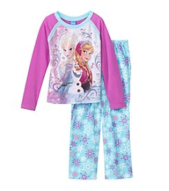 Disney® Girls' 4-10 2-Piece Frozen Pajama Set