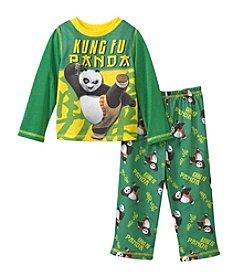 Komar Kids® Boys' 2T-4T 2-Piece Kung Fu Panda Pajama Set