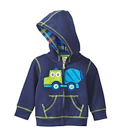 Mix & Match Baby Boys Truck Fleece Hoodie