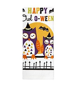Ritz™ Halloween Owl Kitchen Towel