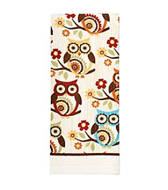 Ritz™ Medallion Owl In A Tree Kitchen Towel