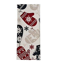 Ritz™ Festive Nordic Mittens Print Kitchen Towel