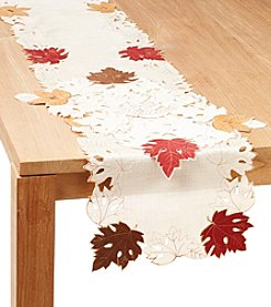 LivingQuarters Woodland Cut Out Table Linens