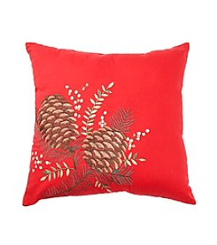LivingQuarters  Pinecone Pillow
