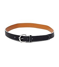 Lauren Ralph Lauren® Milford Endbar Belt With Contrast Edge