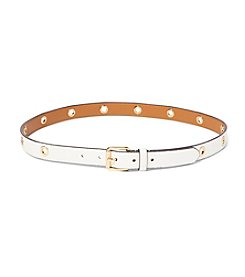 Lauren Ralph Lauren® Roller Buckle On Grommet Strap Belt