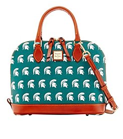 Dooney & Bourke® NCAA® Michigan State Zip Zip Satchel