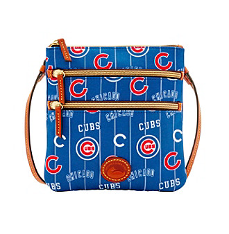 Dooney & Bourke® MLB® Chicago Cubs Triple Zip Crossb