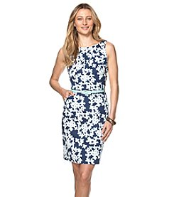 Chaps® Floral Sateen Dress