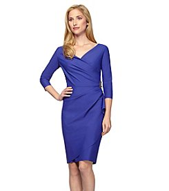 Alex Evenings® Short V-Neck Dress