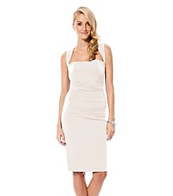 Laundry by Shelli Segal® X-Back Jersey Cocktail Dress