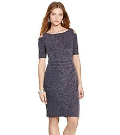 Lauren Ralph Lauren® Cutout Jacquard Dress