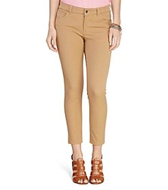 Lauren Ralph Lauren® Petites' Stretch Twill Skinny Pants