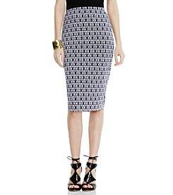 Vince Camuto® Diamond Phrase Midi Skirt