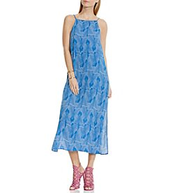 Vince Camuto® Graphic Stripe Maxi Dress