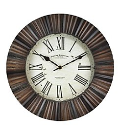 FirsTime Hewn Burst Wall Clock