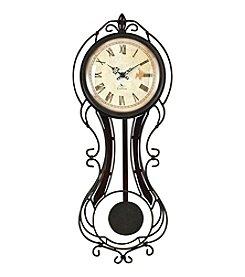 FirsTime Fleur Pendulum Wall Clock