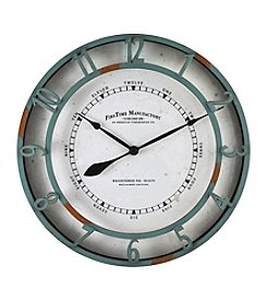 FirsTime Timeworn Wall Clock