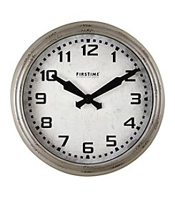 FirsTime Metro Terminal Wall Clock