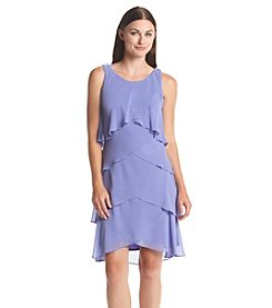 S.L. Fashions Chiffon Shutter Dress