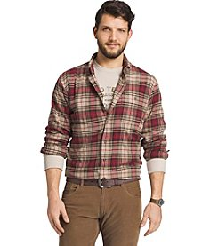 G.H. Bass & Co. Men's Long Sleeve Flannel Shirt