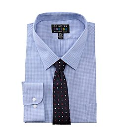 Alexander Julian® Men's Big & Tall Shirt and Tie Set