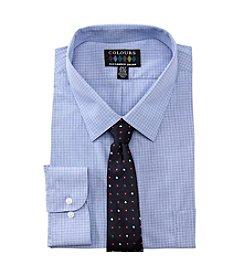 Alexander Julian® Men's Big & Tall Shirt and Tie Set