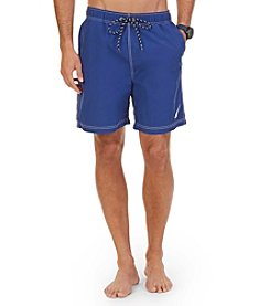 Nautica® Men's Big & Tall J-Class Swim Trunks