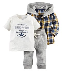 Carter's® Baby Boys 3-Piece Little Handy Man Co. Set