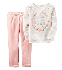Carter's® Baby Girls' 2-Piece Today Will Be Awesome Set